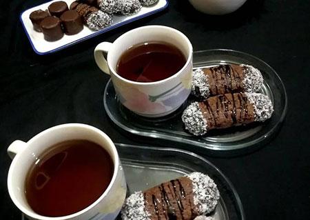 مواد لازم برای قرابیه نارگیلی شکلاتی, نکاتی برای تهیه ی قرابیه نارگیلی