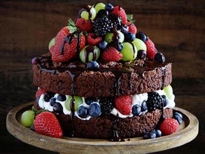 درست کردن کیک دولایه,نحوه پخت کیک دولایه