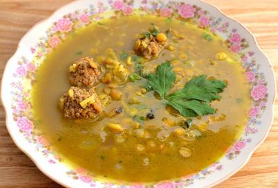 نحوه پخت سوپ انار, درست کردن سوپ انار