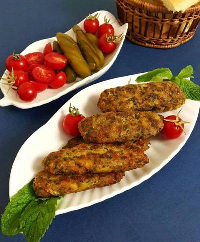 طرز تهیه کتلت گوشت و سبزیجات,پخت کتلت گوشت و سبزیجات