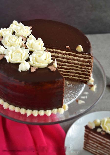کیک روسی مدرن, مدوویک تورت, دستور تهیه کیک مدوویک