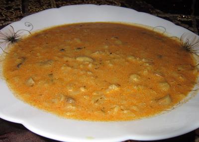 آموزش کامل طرز تهیه سوپ قارچ و جو پرک