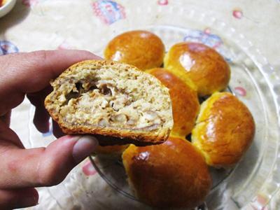 مواد لازم برای نان مغزدار با گردو,طرز تهیه نان مغزدار با گردو