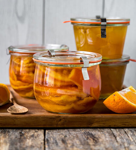 ترشی پوست پرتقال,طرز تهیه ترشی پوست پرتقال