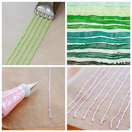 ترافل رنگی,طرز تهیه ترافل رنگی  طرز تهیه ترافل رنگی در خانه  مراحل تهیه ترافل رنگی در خانه  درست کردن ترافل رنگی با خمیر فوندانت