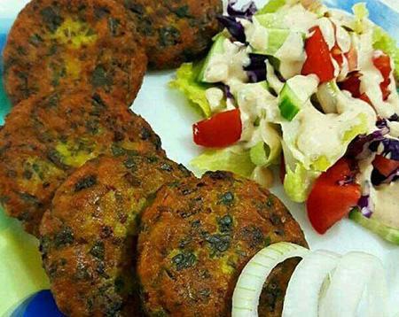نکاتی برای تهیه ی شامی لپه, طرز تهیه شامی لپه بدون گوشت