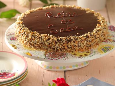 طرز درست کردن کرم گاناش,درست کردن کیک ملکه صبا