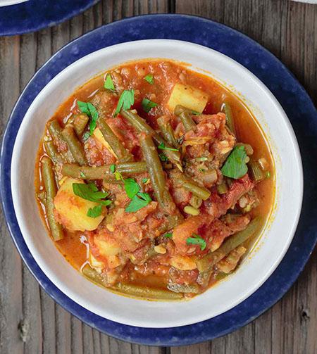طرز تهیه خوراک راگو با قارچ , طرز تهیه خوراک راگو با لوبیا سبز , طرز تهیه خوراک راگو با لوبیا چیتی