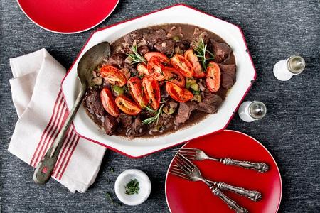 طرز تهیه خوراک راگو فرانسوی , طرز تهیه خوراک راگو با مرغ , خوراک راگو با گوشت چرخ کرده