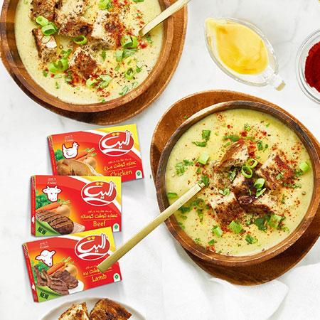 سوپ فوری,عصاره الیت,عصاره مرغ و گوشت