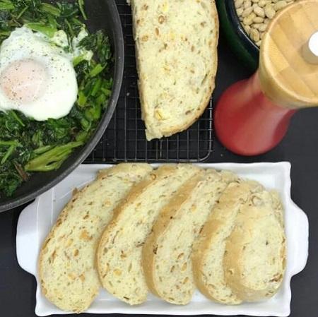 دستور تهیه نان سویا, خواص نان سویا, نان با آرد سویا