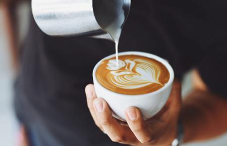 کافه لاته,طرز تهیه کافه لاته