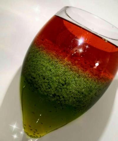 طرز تهیه شربت سه رنگ