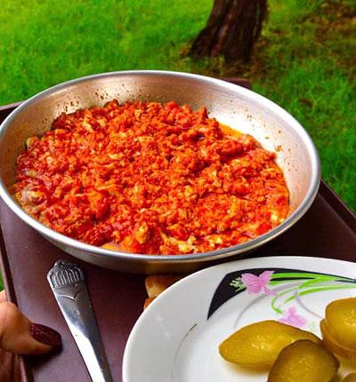 پخت املت  گوجه, طرز پخت املت گوجه