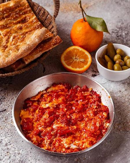 طرز تهیه املت گوجه,طرز تهیه املت با رب