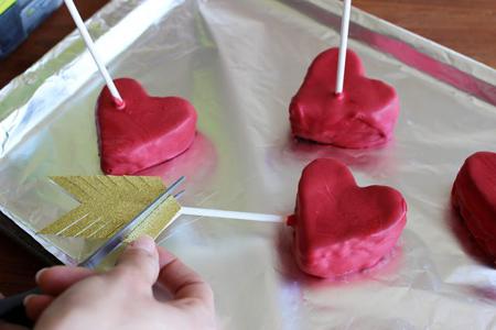 پخت کیک قلبی, طرز پخت کیک قلبی