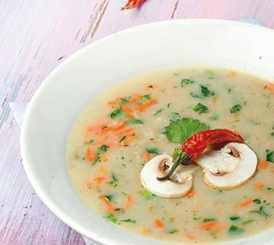 آموزش انواع غذاها|طرز تهیه کامل سوپ سفيد،خوشمزه ترین سوپ مجلسی