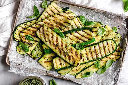 انواع غذا با کدو خورشتی, غذا با کدو خورشتی, خوراک کدو سبز و گوجه