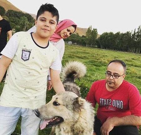 بیوگرافی علی ابوالحسنی,علی ابوالحسنی,عکس خانوادگی علی ابوالحسنی