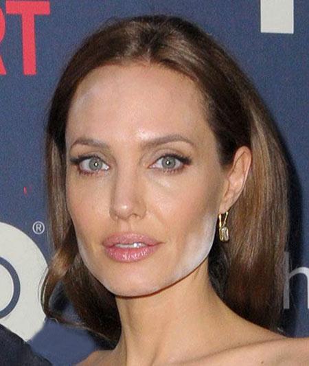 تصاویری از چهره بدون آرایش آنجلینا جولی