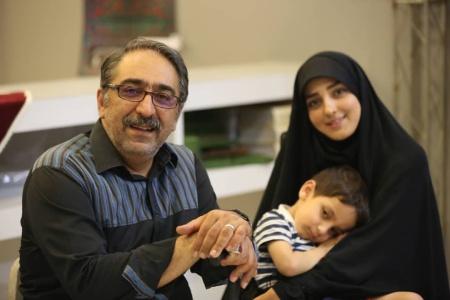 شهرام شکیبا,بیو گرافی شهرام شکیبا,شهرام شکیبا و همسرش