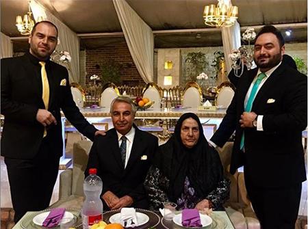 عکسهای شهرام قائدی و همسر و دخترش,شهرام قائدی و دخترش