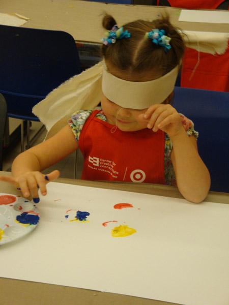 نقاش نابینا یک بازی گروهی ,بازی نقاش نابینا,بازی سرگرم کننده نقاش نابینا