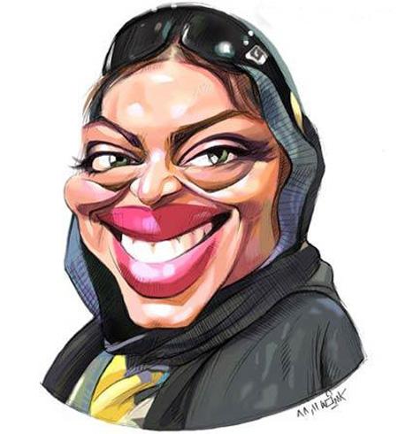 کاریکاتور چهره,کاریکاتور چهره های بازیگران,کاریکاتور چهره بازیگران زن