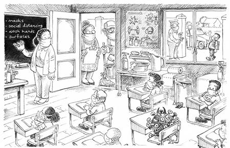 کاریکاتور های جالب, کاریکاتور مفهومی