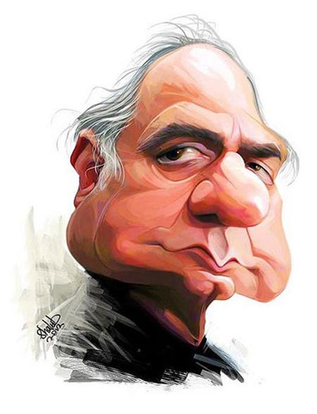 کاریکاتور چهره,کاریکاتور چهره های معروف,کاریکاتور چهره پرویز پرستویی