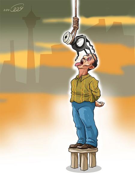 کاریکاتور در مورد آلودگی هوا, کاریکاتور آلودگی