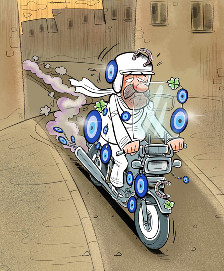 کاریکاتور سیاسی, کاریکاتور های خنده دار, کاریکاتور مفهومی