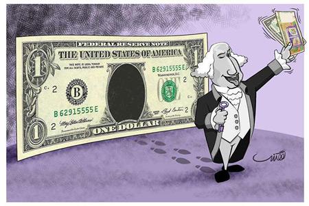 کاريکاتور درباره گراني ارز, کاريکاتور درباره گراني