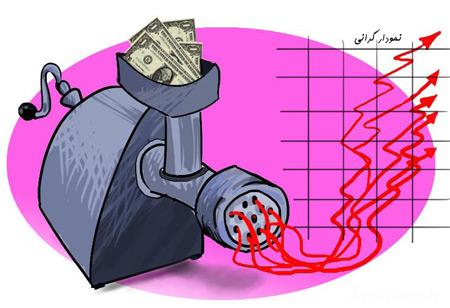 کاریکاتور درباره گرانی ارز, کاریکاتور درباره گرانی
