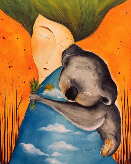 , کاریکاتورهای فاجعه زیست محیطی در استرالیا, آتش سوزی استرالیا