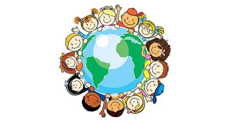 پوستر روز جهانی کودک, نقاشی روز جهانی کودک