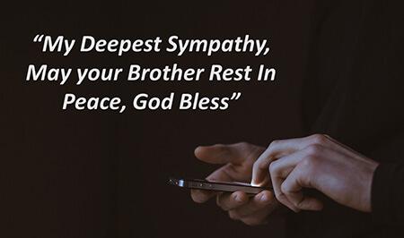 پیام هایی برای فوت برادر, پیام تسلیت برای فوت برادر, پیام تسلیت فوت برادر به همکار