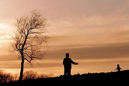 دلنوشته برای پدر از دست رفته, عکس پروفایل پدر فوت شده