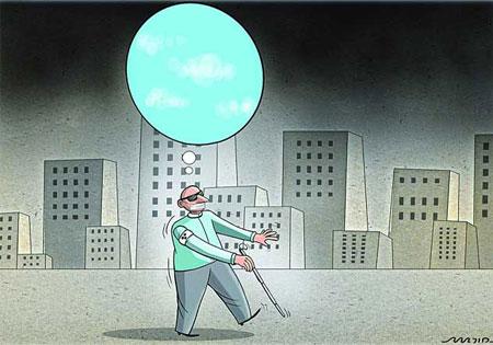 کاریکاتور آلودگی هوا , کاریکاتور روز هوای پاک
