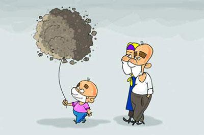جوک درباره آلودگی هوا , طنز آلودگی هوا