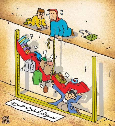 کاریکاتور گرانی گوشت , کاریکاتور خرید عید