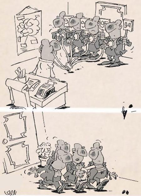 کاریکاتور مفهومی , کاریکاتور انتخابات