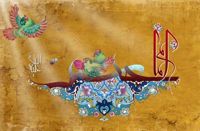متن تبریک ولادت امام حسین , دوبیتی تبریک ولادت امام حسین