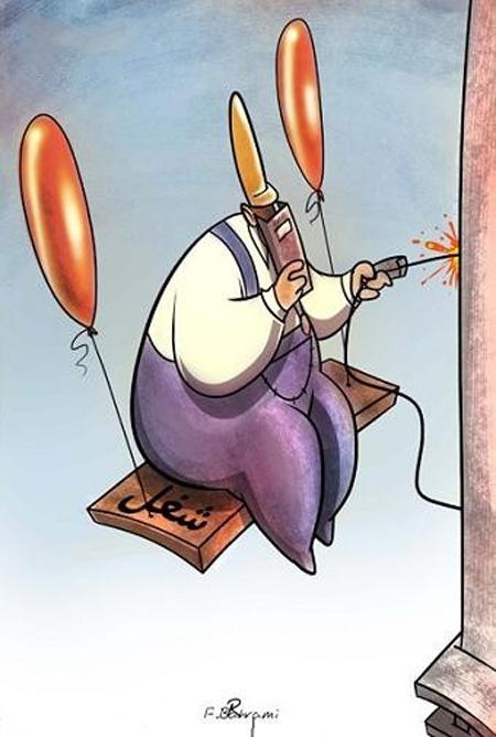 کاریکاتور کارگر , کاریکاتور درباره کارگر