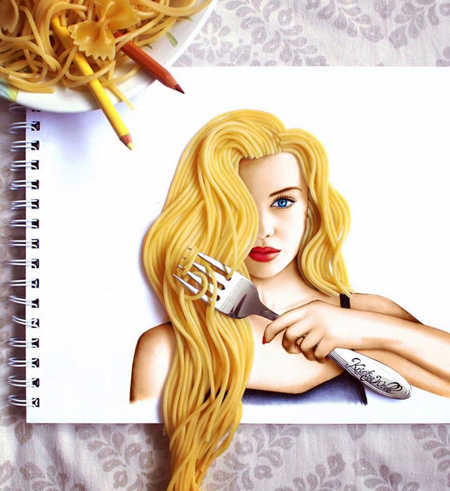نقاشی های بامزه کارتونی , نقاشی ترکیبی جدید
