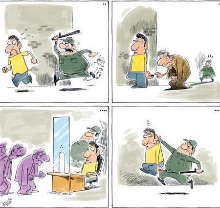 کاریکاتورهای مفهومی جالب , کاریکاتور