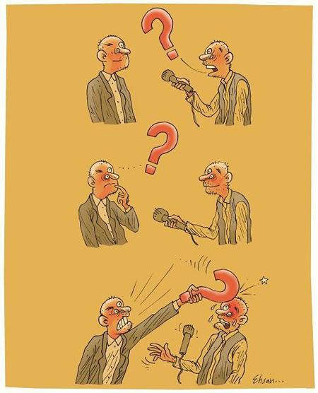 تصاویر روز خبرنگار , کاریکاتورهای روز خبرنگار