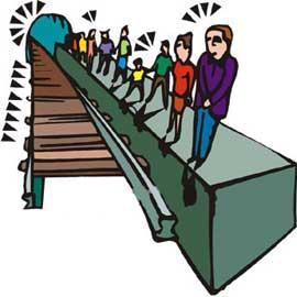 طنز خنده دار-آداب سوار شدن بر قطار مترو