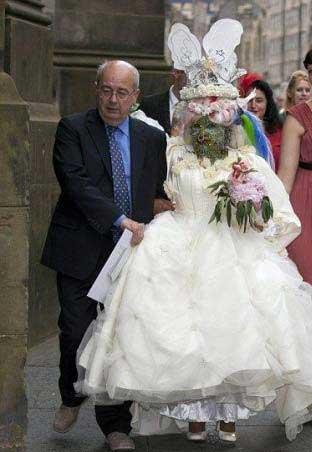 عکس   زشت ترین عروس خانم دنیا