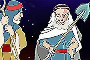 ضرب المثل, حضرت خضر, داستان ضرب المثل، بیلش را پارو کرده ضرب المثل درباره نادانی وسادگی